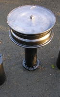 Wheel rim table